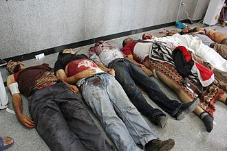 August 2013 Rabaa massacre - Bodies of victims killed in the massacre
