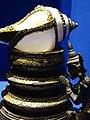Decorative Conch Shell with Praying Bodhisattva - Lanna Folklife Museum - Chiang Mai - Thailand (34973771402).jpg