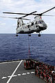 Defense.gov News Photo 120313-M-SE916-050 - A CH-46E Sea Knight with Marine Medium Helicopter Squadron 265 Reinforced 31st Marine Expeditionary Unit lifts cargo to deliver to the USS Essex.jpg