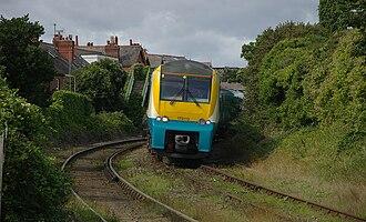 British Rail Class 175 - Image: Deganwy railway station MMB 07 175113
