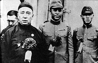 Mengjiang - Demchugdongrub (left)