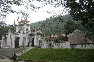 Lady Triệu - Image: Den tho ba trieu