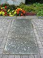 Denkmal Bad Dürkheim 1914-1918 und 1939 - 1945 linke Bodenplatte.JPG
