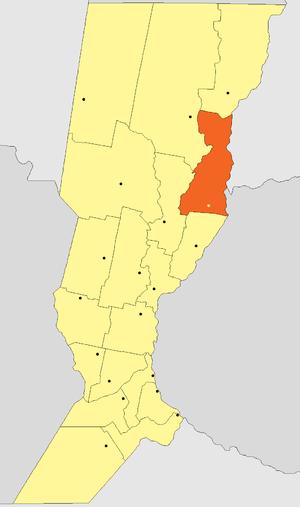 San Javier Department, Santa Fe - Image: Departamento San Javier (Santa Fe Argentina)
