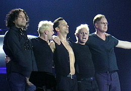 Depeche Mode in Barcelona, 2006.jpg