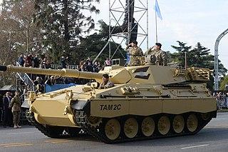 <i>Tanque Argentino Mediano</i> Medium tank
