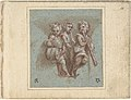 Design for a Pendentive- Youthful Musicians with Wind Instruments and a Drum MET DP807717.jpg