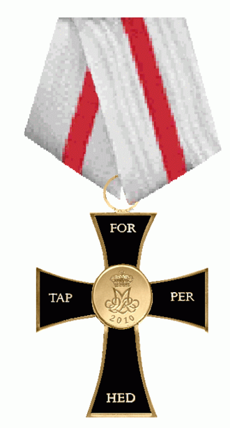 Valour Cross - Obverse of the Valour Cross