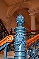 Detail aus dem Treppenhaus-Anbau aus der Zeit des 19. Jahrhunderts an das Hauptstaatsarchiv Hannover ...jpg
