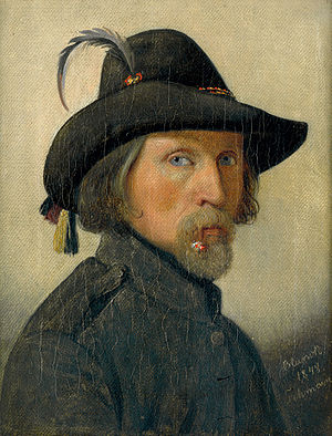 Ditlev Blunck - Self-portrait from 1818