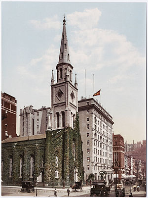 Marble Collegiate Church - Image: Detroit Photographic Company (0619)