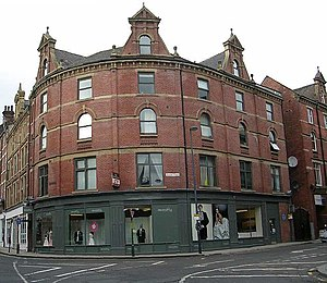 English: Dewhirst's Warehouse - Harper Street ...