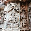 Dhanavantri sculpture at Somanathapura, Karnataka.jpg