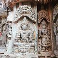 Dhanavantri sculpture at Somanathapura, Karnataka.jpg