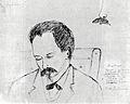 Dibujo de José Martí hecho por Bernardo Figueredo Antúnez en Florida 1893.jpg