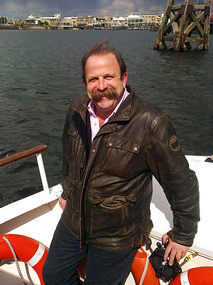 Planet Mechanics - Image: Dick Strawbridge and his unfeasably large moustache