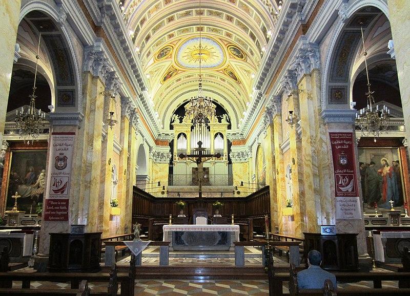 File:Die Salvatorkirche in Jerusalem ist der Sitz der Kustodie des Heiligen Landes. - panoramio.jpg