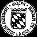 Dienstsiegel Bayern Landratsamt Neustadt a.d.Aisch - Bad Windsheim 1 20131119 Kleines Staatswappen.png
