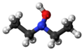 Diethylhydroxylamine 3D ball.png