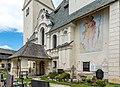 Diex Wehrkirchhof Pfarrkirche hl. Martin Vorhalle und Christophorus 26052017 8706.jpg