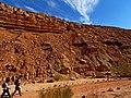 Dikes, Ardon Creek, Ramon Makhtesh, Negev, Israel דייקים, נחל ארדון, מכתש רמון, הר הנגב - panoramio.jpg