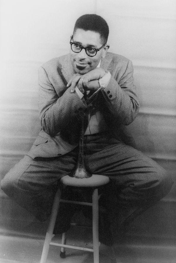 Photo Dizzy Gillespie via Wikidata