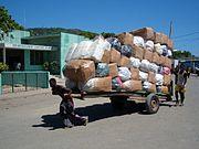 Dockworkers in Cap-Haitien