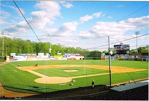 Senator Thomas J. Dodd Memorial Stadium - Image: Dodd Stadium HP