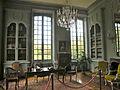 Domaine de Villarceaux - Château du haut - Bibliotheque 1.JPG