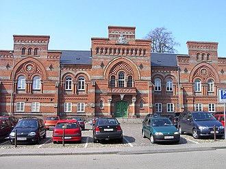 Fredericia Municipality - The old courthouse in Fredericia