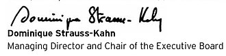 Dominique Strauss-Kahn - Image: Dominique Strauss Kahn Signature