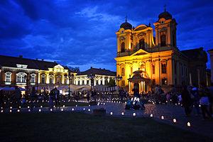 "Timisoara: Domul romano-catolic ""Sf. Gheorghe"""