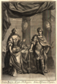 Dona Maria Paez Ribeyra, Don Alfonso Dyniz (Theatro histórico, genealógico, y panegyrico; erigido a la inmortalidad de la Excelentíssima Casa de Sousa, 1694).png