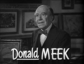 Donald Meek - Meek in The Thin Man Goes Home (1945)