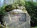 Donndorf - Fantaisie Schlosspark - Borodinostein (15.04.2007) 01.jpg