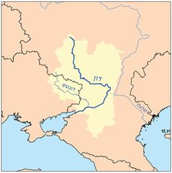 מפת נהר הדון