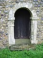 Door in the S wall of St Oswald's church - geograph.org.uk - 1137882.jpg