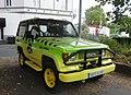 Douai - Véhicule aux couleurs de Jurassic Park, boulevard Paul-Hayez (02).JPG