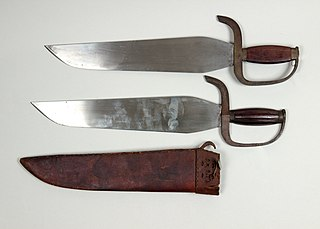Butterfly sword Single-edged blade
