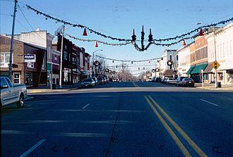 Marshall, Illinois - Archer Avenue downtown