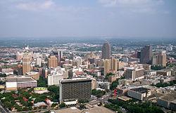 Skyline of Downtown San Antonio