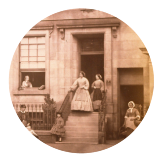 John Adamson (physician) - John Adamson's home and family in St Andrews, 1862