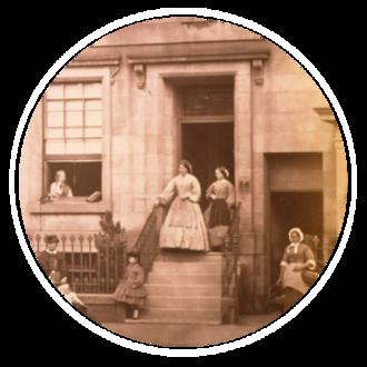 John Adamson (physician) - John Adamson's home and family in St Andrews, 1862