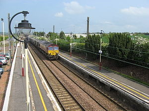 Drem railway station - Image: Drem(2)