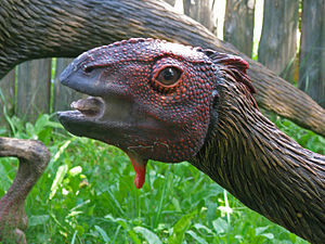 Dryosaurus - Model in Poland