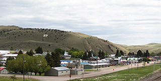 Town in Montana, United States