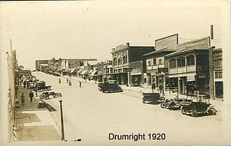 Drumright, Oklahoma - Historical Drumright (1920)