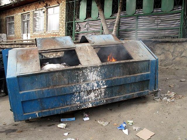 Dumpster Fire, From WikimediaPhotos