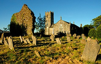 Dungarvan - Image: Dungarvan ireland church