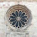 Duomo di trento, rosone con ruota della fortuna, 01.jpg